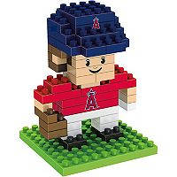 Forever Collectibles Los Angeles Angels of Anaheim Mini BRXLZ 3D Player Puzzle Set