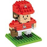 Forever Collectibles Miami Marlins Mini BRXLZ 3D Player Puzzle Set