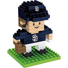 Forever Collectibles San Diego Padres Mini BRXLZ 3D Player Puzzle Set