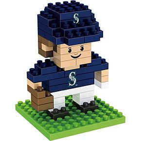 Forever Collectibles Seattle Mariners Mini BRXLZ 3D Player Puzzle Set