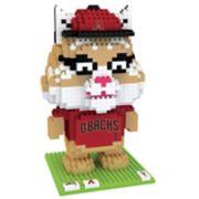 Forever Collectibles Arizona Diamondbacks BRXLZ 3D Mascot Puzzle Set