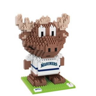 Forever Collectibles Seattle Mariners BRXLZ 3D Mascot Puzzle Set