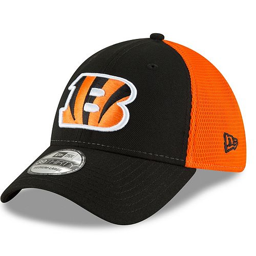 Adult New Era Cincinnati Bengals 39THIRTY Sided Flex-Fit Cap