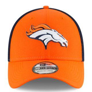 Adult New Era Denver Broncos 39THIRTY Sided Flex-Fit Cap