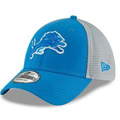 Adult New Era Detroit Lions 39THIRTY Sided Flex-Fit Cap