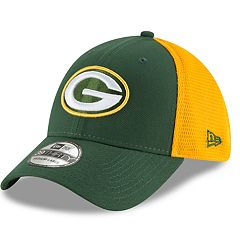 cf31f99c309947 Adult New Era Green Bay Packers 39THIRTY Sided Flex-Fit Cap