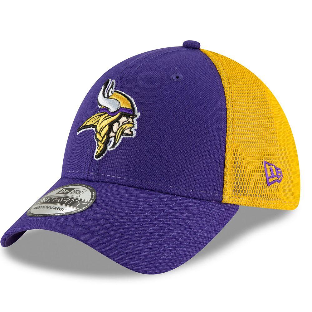 Adult New Era Minnesota Vikings 39THIRTY Sided Flex-Fit Cap