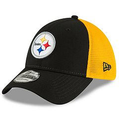 Adult New Era Pittsburgh Steelers 39THIRTY Sided Flex-Fit Cap
