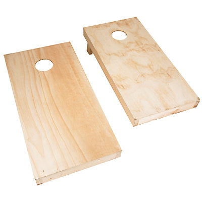 Hey! Play! Do-It-Yourself Regulation-Sized Cornhole Boards & Bags Set