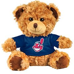 Forever Collectibles Cleveland Indians Logo Shirt Bear