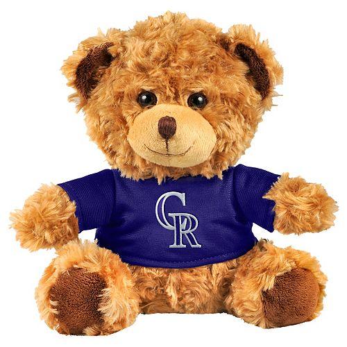 Forever Collectibles Colorado Rockies Logo Shirt Bear