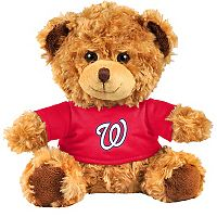 Forever Collectibles Washington Nationals Logo Shirt Bear