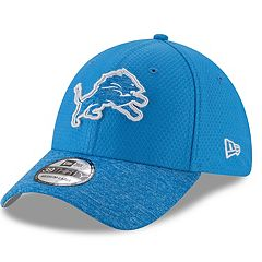 Adult New Era Detroit Lions 39THIRTY Popped Shadow Flex-Fit Cap