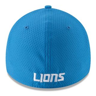 Adult New Era Detroit Lions 39THIRTY Popped Shadow Flex-Fit Cap