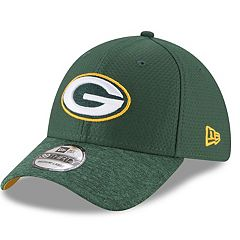 Adult New Era Green Bay Packers 39THIRTY Popped Shadow Flex-Fit Cap