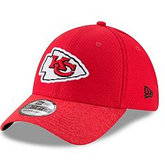 Adult New Era Kansas City Chiefs 39THIRTY Popped Shadow Flex-Fit Cap