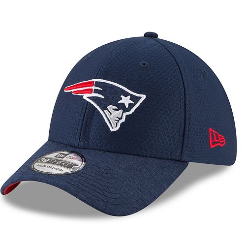 Adult New Era New England Patriots 39THIRTY Popped Shadow Flex-Fit Cap