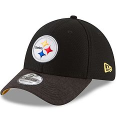 Adult New Era Pittsburgh Steelers 39THIRTY Popped Shadow Flex-Fit Cap