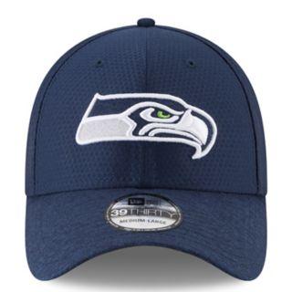 Adult New Era Seattle Seahawks 39THIRTY Popped Shadow Flex-Fit Cap