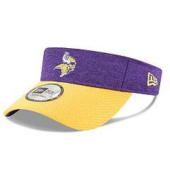 Adult New Era Minnesota Vikings Official Adjustable Visor