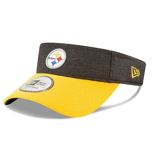 9df87dc8528393 Adult New Era Pittsburgh Steelers Official Adjustable Visor