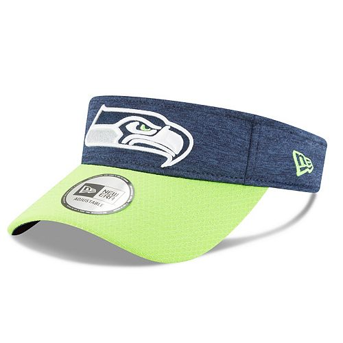 Adult New Era Seattle Seahawks Official Adjustable Visor