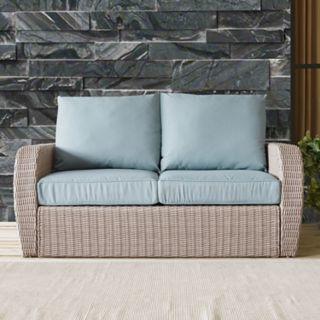 Crosley Furniture St. Augustine Outdoor Wicker Patio Loveseat