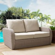 Crosley Furniture St. Augustine Outdoor Wicker Patio Loveseat