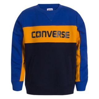 Boys 8-20 Converse Colorblock Sweatshirt