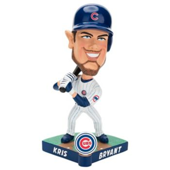 Forever Collectible Chicago Cubs Kris Bryant Caricature Bobble Head