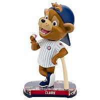 Forever Collectibles Chicago Cubs Clark Mascot Headline Bobble Head