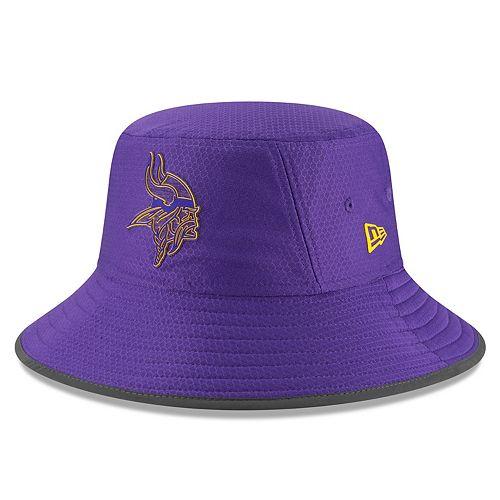 Adult New Era Minnesota Vikings Training Bucket Hat 55cbcdcdb1a