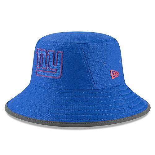 Adult New Era New York Giants Training Bucket Hat
