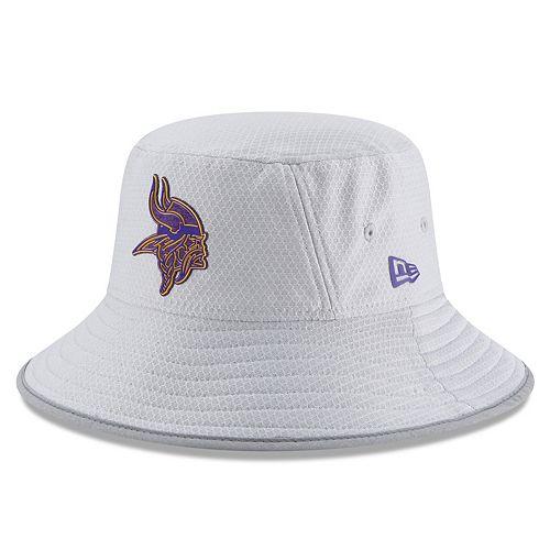 Adult New Era Minnesota Vikings Training Bucket Hat