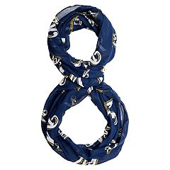 Forever Collectibles Milwaukee Brewers Team Logo Infinity Scarf