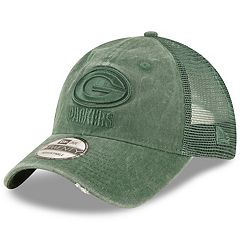 Adult New Era Green Bay Packers 39THIRTY Tonal Washed Flex-Fit Cap