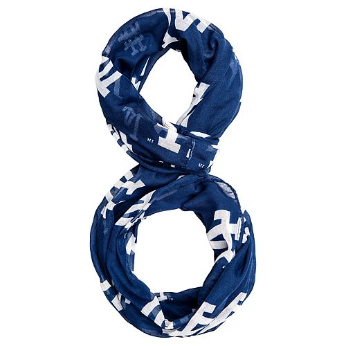 91765fe8111 Forever Collectibles Los Angeles Dodgers Team Logo Infinity Scarf