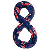 Forever Collectibles Chicago Cubs Team Logo Infinity Scarf