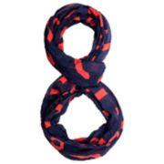 Forever Collectibles Cleveland Indians Team Logo Infinity Scarf