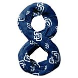 Forever Collectibles San Diego Padres Team Logo Infinity Scarf