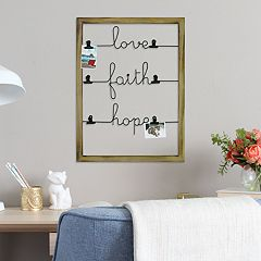 Stratton Home Decor 'Love' Photo Clip Wall Decor