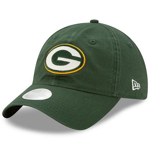 Women s New Era Green Bay Packers Glisten Adjustable Cap eeff4ba89