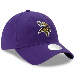 Women's New Era Minnesota Vikings Glisten Adjustable Cap