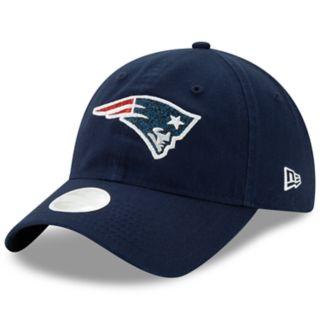 Women's New Era New EnglandPatriots Glisten Adjustable Cap