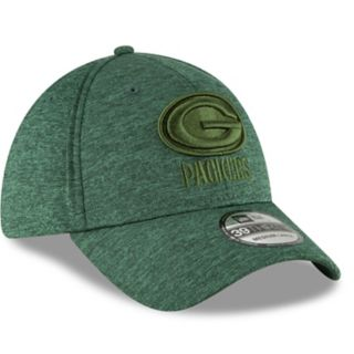 Adult New Era Green Bay Packers 39THIRTY Heated Up Flex-Fit Cap