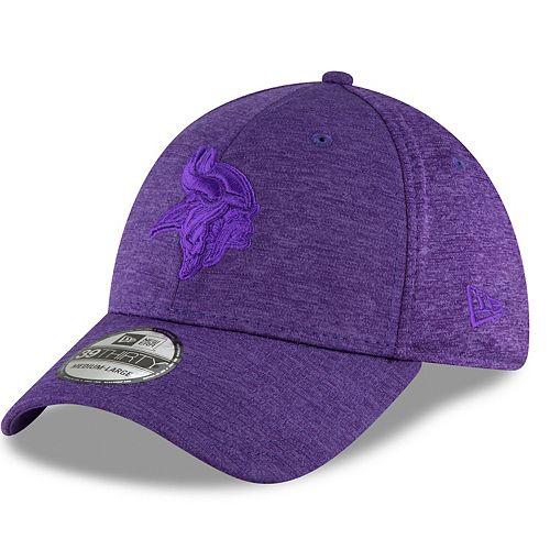 Adult New Era Minnesota Vikings 39THIRTY Heated Up Flex-Fit Cap