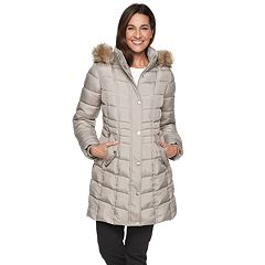 Women's TOWER by London Fog Hooded Puffer Heavyweight Jacket