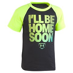 Boys 4-7 Under Armour 'I'll Be Home Soon' Raglan Graphic Tee