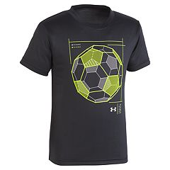 Boys 4-7 Under Armour Wired Soccer Graphic Tee