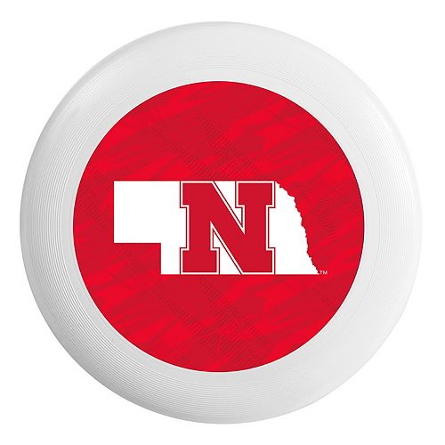 Forever Collectibles Nebraska Cornhuskers Flying Disc